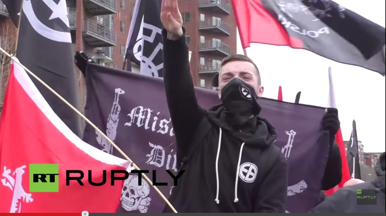LIVE__Antifa_confront_nationalists_in_Newcastle_-_YouTube