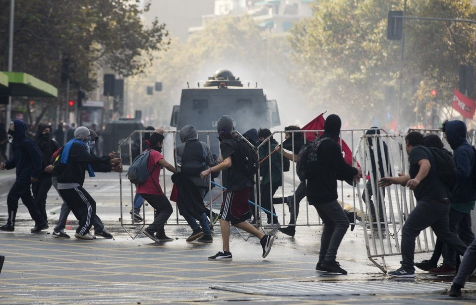 Chile Students Protest