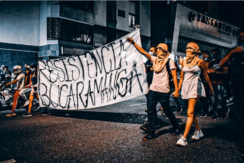 Screenshot_2021-05-25 Enough 14 — Its time to revolt – -Reportback A night of protests in Bucaramanga, Colombia – Banners,[…]